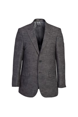 Erkek Giyim - SİYAH 52 Beden Klasik Desenli Ceket