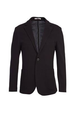 Erkek Giyim - SİYAH LACİVERT 52 Beden Spor Ceket