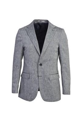 Erkek Giyim - AÇIK LACİVERT 48 Beden Klasik Ceket