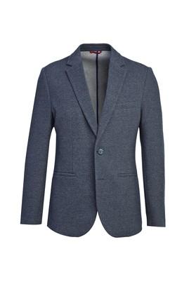 Erkek Giyim - ORTA LACİVERT 44 Beden Klasik Kuşgözü Ceket