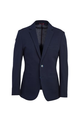 Erkek Giyim - KOYU LACİVERT 44 Beden Klasik Ceket