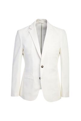 Erkek Giyim - BEYAZ 46 Beden Slim Fit Ceket