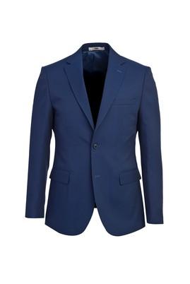 Erkek Giyim - ORTA LACİVERT 52 Beden Slim Fit Blazer Ceket