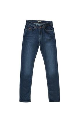Erkek Giyim - İNDİGO 50 Beden Denim Pantolon