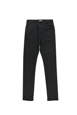 Erkek Giyim - SİYAH 52 Beden Slim Fit Denim Pantolon