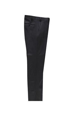 Erkek Giyim - SİYAH 56 Beden Slim Fit Klasik Pantolon