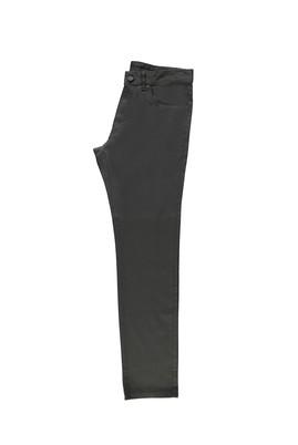 Erkek Giyim - FÜME GRİ 58 Beden Desenli Spor Pantolon