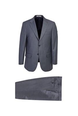 Erkek Giyim - MARENGO 56 Beden Klasik Desenli Takım Elbise