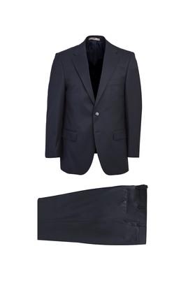 Erkek Giyim - LACİVERT 46 Beden Klasik Takım Elbise