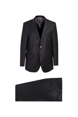 Erkek Giyim - SİYAH 54 Beden Yünlü Takım Elbise
