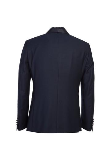 Erkek Giyim - Slim Fit Şal Yaka Smokin / Damatlık