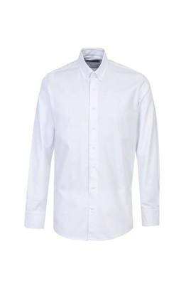 Erkek Giyim - BEYAZ XL Beden Uzun Kol Oxford Klasik Gömlek