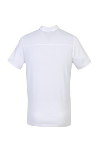 Erkek Giyim - Yarım İtalyan Yaka Süprem Tişört