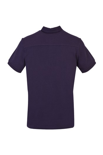Erkek Giyim - Yarım İtalyan Yaka Regular Fit Süprem Tişört