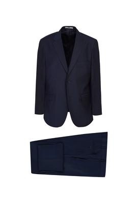 Erkek Giyim - KOYU LACİVERT 66 Beden Klasik Takım Elbise