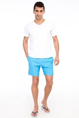 Erkek Giyim - Turkuaz 52 Beden Deniz Şortu