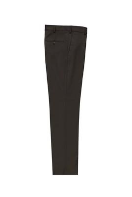 Erkek Giyim - KOYU KAHVE 52 Beden Klasik Yünlü Pantolon