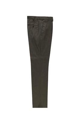 Erkek Giyim - ORTA KAHVE 54 Beden Klasik Kumaş Pantolon