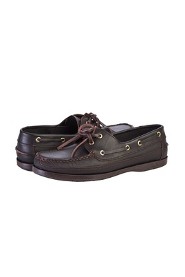 Erkek Giyim - ORTA KAHVE 39 Beden Casual Bağcıklı Deri Ayakkabı