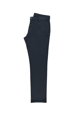 Erkek Giyim - KOYU MAVİ 56 Beden Slim Fit Kuşgözü Spor Pantolon