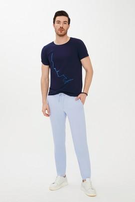 Erkek Giyim - UÇUK MAVİ 54 Beden Spor Bağcıklı Pantolon