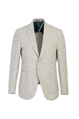 Erkek Giyim - KOYU YEŞİL 44 Beden Slim Fit Spor Ceket