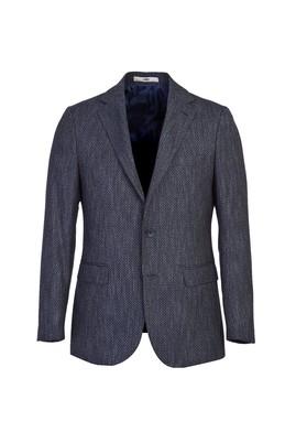 Erkek Giyim - KOYU LACİVERT 54 Beden Klasik Kuşgözü Ceket