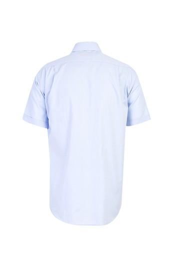 Erkek Giyim - Kısa Kol Oxford Klasik Gömlek