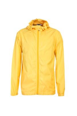 Erkek Giyim - LİMON SARI M Beden Regular Fit Yağmurluk