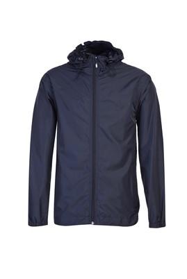 Erkek Giyim - KOYU LACİVERT S Beden Regular Fit Yağmurluk