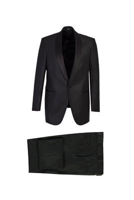 Erkek Giyim - SİYAH 48 Beden Şal Yaka Smokin / Damatlık