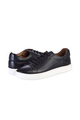 Erkek Giyim - KOYU LACİVERT 40 Beden Sneaker Ayakkabı