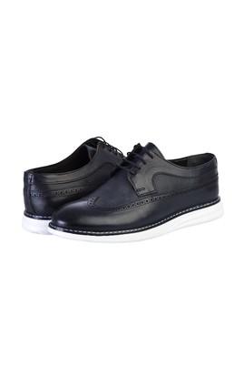 Erkek Giyim - KOYU LACİVERT 40 Beden Bağcıklı Casual Ayakkabı