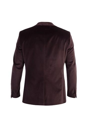 Erkek Giyim - Slim Fit Kadife Ceket
