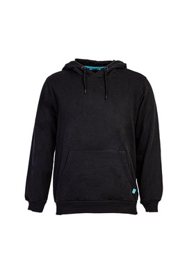 Erkek Giyim - SİYAH M Beden Kapüşonlu Sweatshirt
