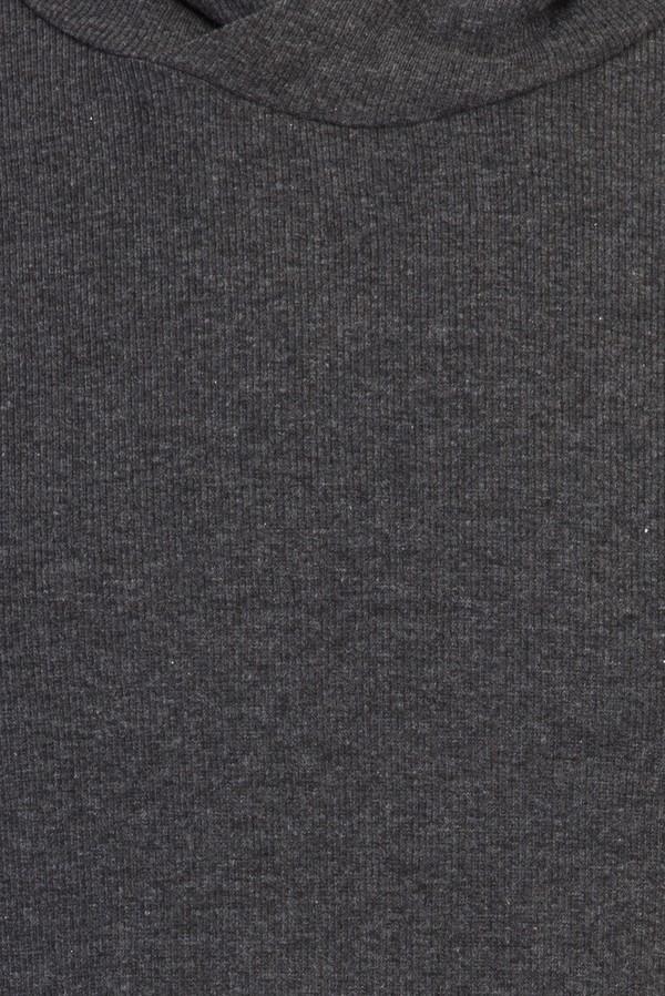 Kapüşonlu Kısa Kol Slim Fit Sweatshirt
