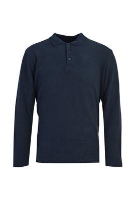 Erkek Giyim - İNDİGO XXL Beden Polo Yaka Sweatshirt