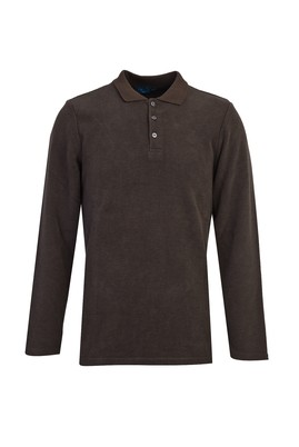 Erkek Giyim - NEFTİ M Beden Polo Yaka Sweatshirt