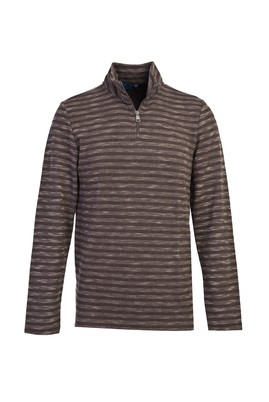 Erkek Giyim - ORTA GRİ 3X Beden Fermuarlı Sweatshirt