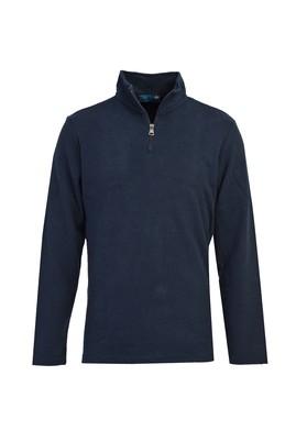 Erkek Giyim - İNDİGO 3X Beden Fermuarlı Sweatshirt