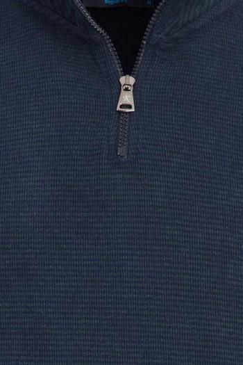Erkek Giyim - Fermuarlı Sweatshirt