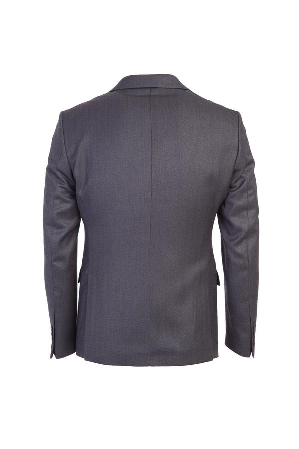 Slim Fit Balık Sırtı Ceket