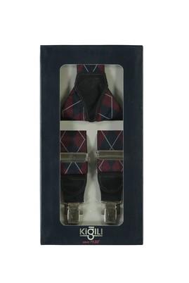 Erkek Giyim - ŞARAP BORDO 135 Beden Pantolon Askısı