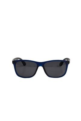 Erkek Giyim - ORTA LACİVERT  Beden UV Korumalı Kemik Çerçeveli Güneş Gözlüğü