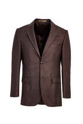 Erkek Giyim - KAHVE 46 Beden Bambu Ceket
