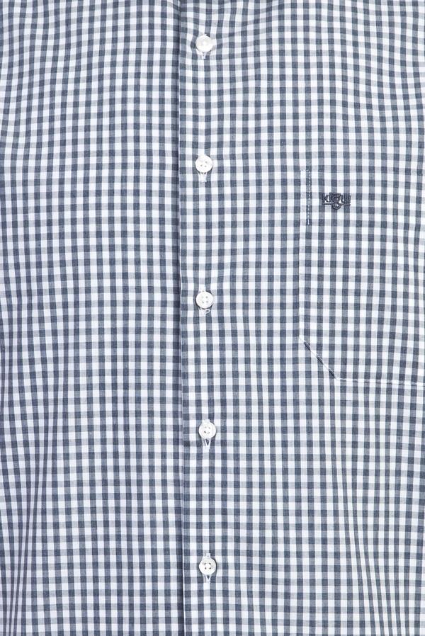 Kısa Kol Regular Fit Ekose Gömlek