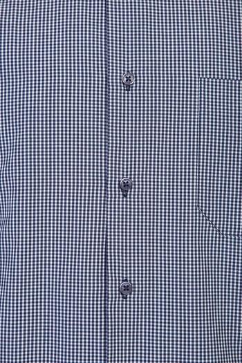 Erkek Giyim - Kısa Kol Klasik Ekose Gömlek