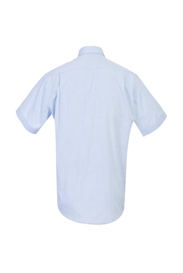 Kısa Kol Klasik Ekose Gömlek