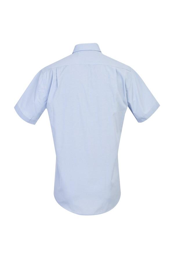 Kısa Kol Klasik Desenli Gömlek