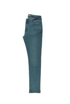 Erkek Giyim - AÇIK MAVİ 46 Beden Slim Fit Denim Pantolon